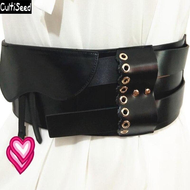2019 Women Wide Waistband Waist Belt Female DressWaist Belts Cummerbunds Wide Corset Waist Belts Waistband Apparel Accessories