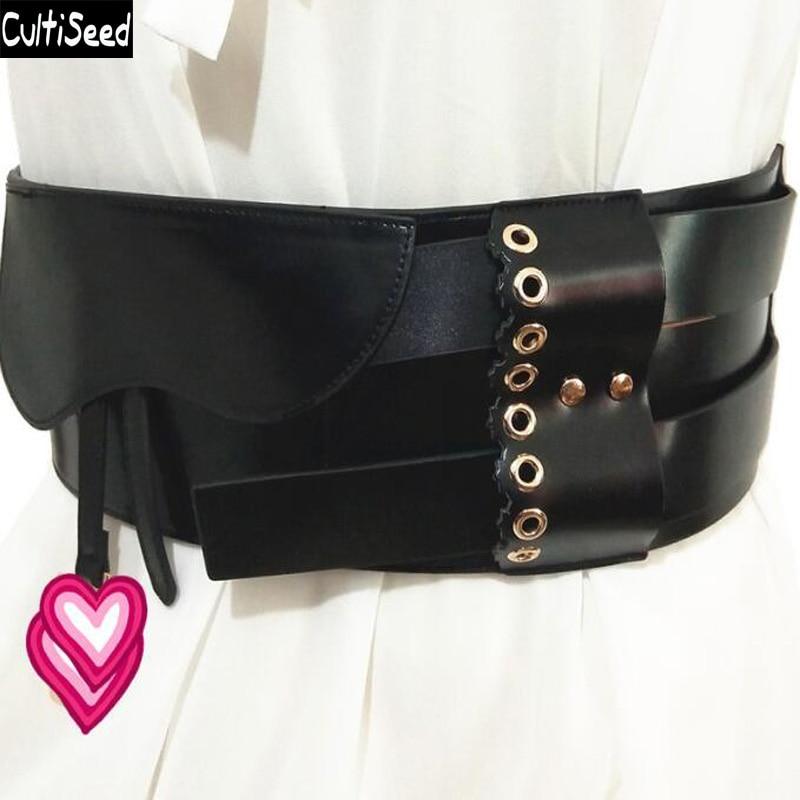 2019 femmes large ceinture taille ceinture femelle dresssize ceintures Cummerbunds large Corset taille ceintures ceinture vêtements accessoires