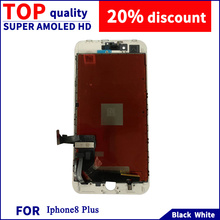 цена на For IPhone8P LED HD LCD Display Touch Screen 5.5 Inch 1920*1020 Capacitive Screen Replacement Digitizer Component