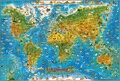 Шерсть Взрослых Пазл 1000 Шт. Детские Развивающие Игрушки Ребенка Раннего обучения игрушки Животных Карта Мира Sky City Bus Рождественский Подарок