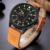 2017 nueva naviforce marca de lujo de los hombres del ejército militar deportes relojes de cuarzo reloj de hombre de cuero de los hombres a prueba de agua reloj de pulsera
