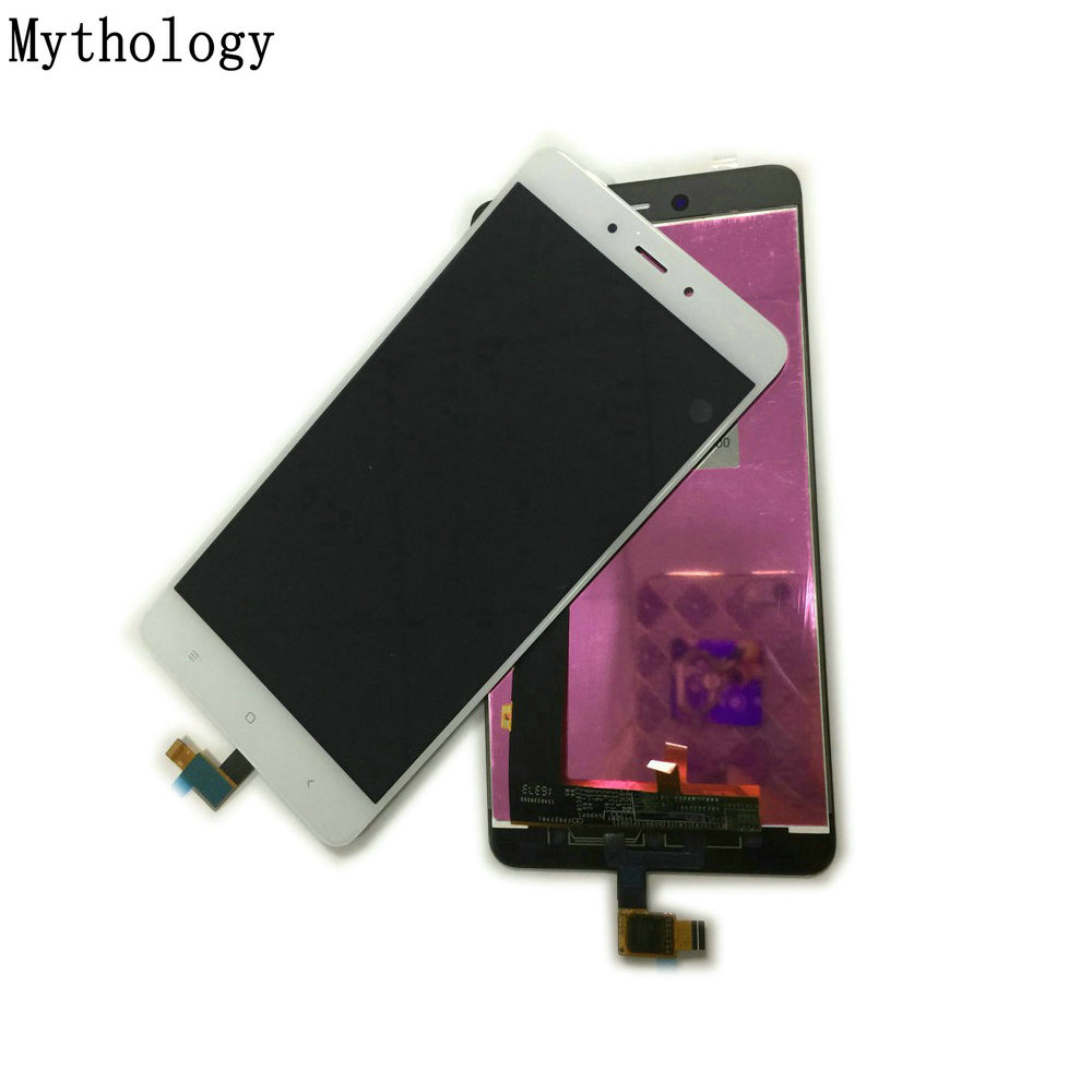 La mythologie Tactile Panneau LCD Pour Xiaomi Redmi Note 4 MTK Helio X20 Chinois Version 5.5 pouce Tactile Écran D'affichage