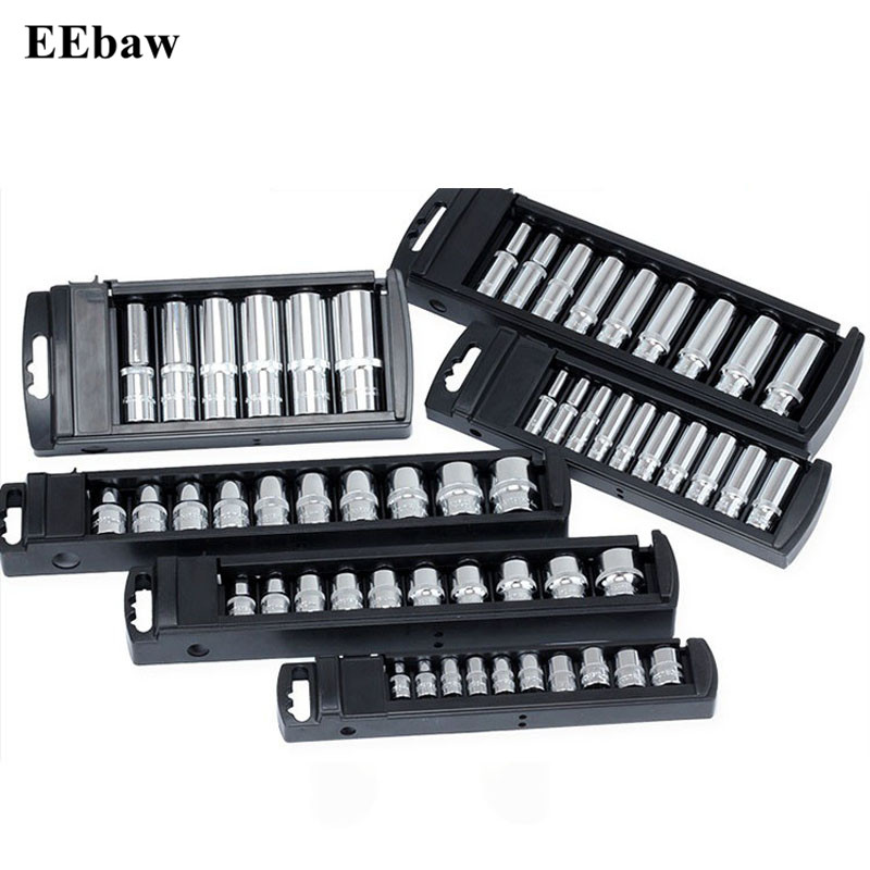 "Combination Ratchet Wrench Socket Set Quick Release Repair Tools 1//2/"" 3//8/"" 1//4/"""