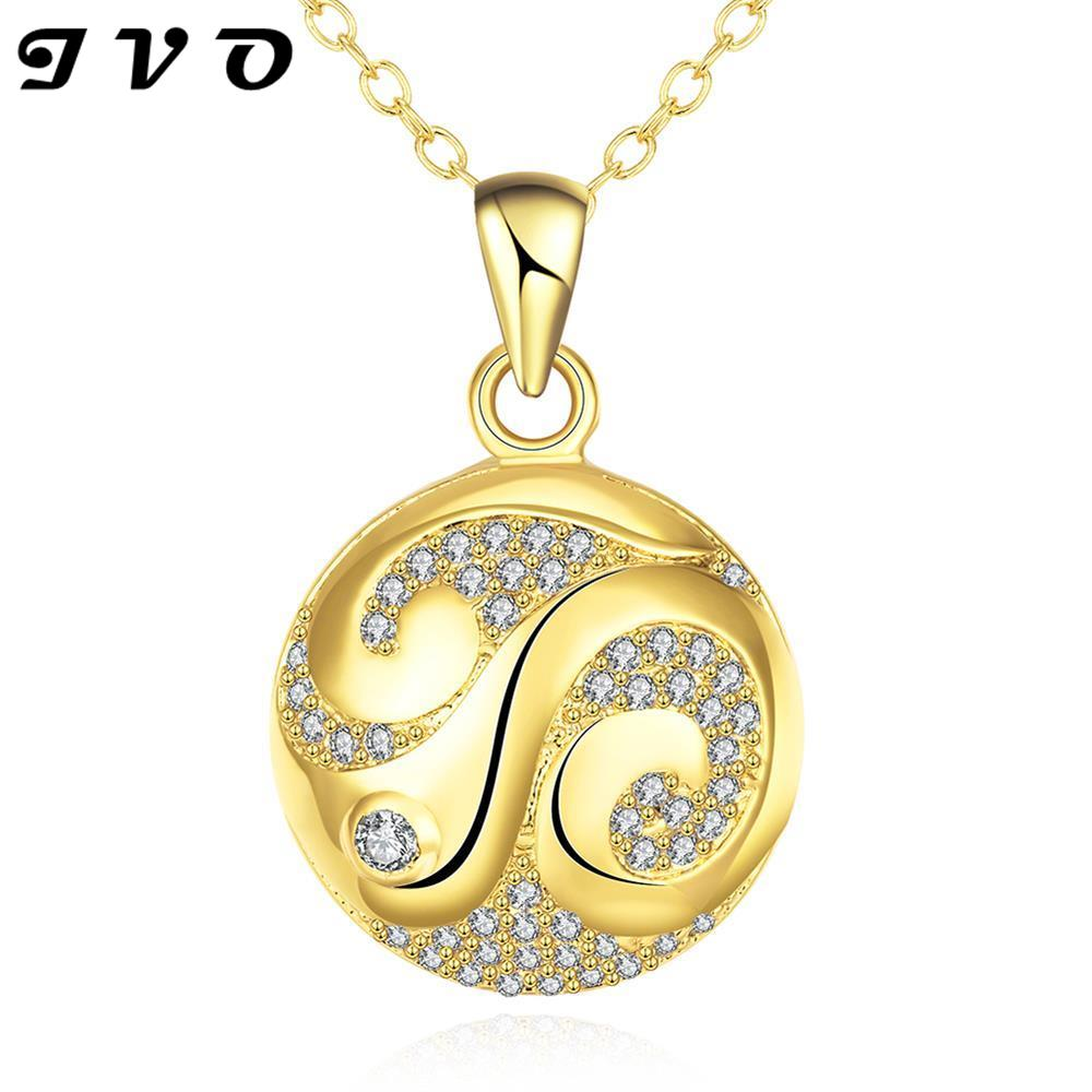 cut nl wg jewelry gold princess pendant white graduated drop necklace diamond in with