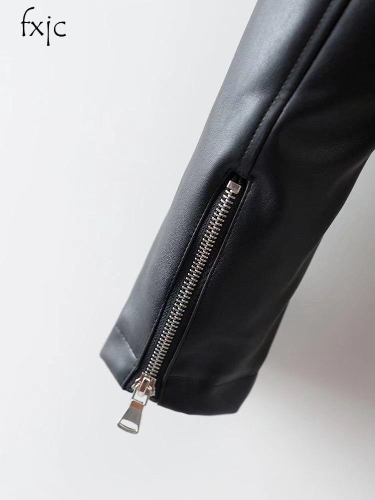 À Brodé Noir Longues Cuir Colibri Nouvelles Revers Manches Printemps Mode Femmes En 2018 qWa0x4wzIY