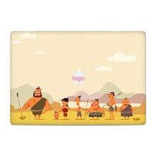 GOOYIYO - 2019 Laptop Sticker Top Vinyl Decal Cartoon Simple DIY Skin for Macbook Air Retina Pro 11 13 15 Gift Screen Film