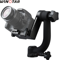 Pro 360 Degree Vertical Panorama Gimbal Tripod Head 1/4Screw With Quick Release For Camera Telephoto Lens Vs Beik Bk 45