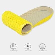 1 пара, толстая стелька для обуви, ортопедические стельки для обуви и аксессуаров, ортопедические стельки из пены с эффектом памяти, спортивные стельки для супинатора, для женщин и мужчин