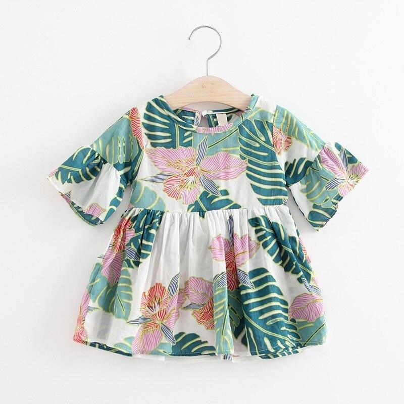 efe3fa0a6 2018 bebé niños vestidos para niñas princesa vestidos niño recién nacido  Tutu Mini vestido 2018 verano nuevo
