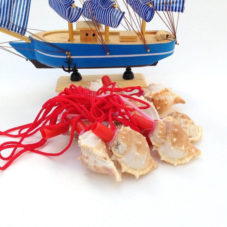 Free Shipping(10pcs/lot)Conch Whistle Natural Shell&Conch Home Decoration Shell Crafts & Gifts Tourism Souvenirs