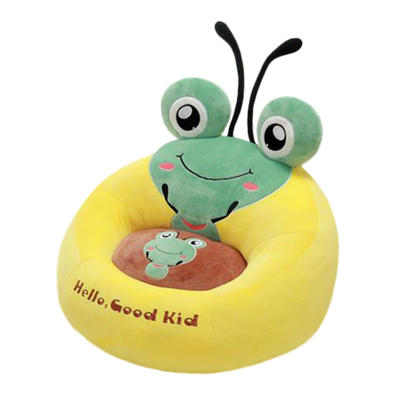 Fashion Cosy Baby Seat Cartoon Animal Armchaiir Cute Play Game Seat Chair Sofa Portable Chair Kids Plush Stuffed Toys E016 bath seat dining chair baby inflatable kids sofa baby chair portable baby seat chair play game mat sofa kids inflatable stool
