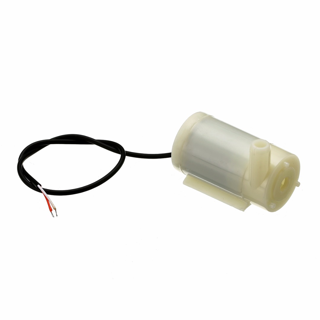 1pc Mini Micro Submersible Water Pump DC 2.5-6V Low Noise Brushless Motor Pump120L/H