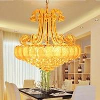 LED 21W 30W Art Creative Restaurant Sitting Room The Bedroom Room Chandelier Crystal 110 240V 9