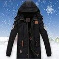 -30 grados de Niños Adolescentes Invierno Abrigos Ropa Niños Prendas de Abrigo Parka Abajo Chaquetas Trajes de Nieve Niño Larga Verde Caliente Costum