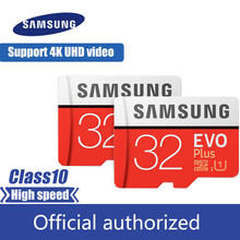 SAMSUNG EVO Plus MicroSD Memory Card 32GB 64GB 128GB 256GB Class10 microSDXC U3 UHS-I TF 4K HD for Smartphone Tablet etc