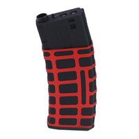 NFSTRIKE Collection Version Magazine For STD Gen.6 M 4 Blaster Modification Bullets Clip Modified Part Black + Red