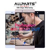 100 Tested Original 5 2 Inch Black White Display For HUAWEI Ascend P8 LCD Touch Screen