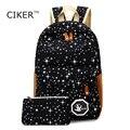 CIKER Опрятный стиль Горячие 2017 женская мода рюкзак школьный мешок этого travle ноутбук рюкзаки печати mochila рюкзак сумки на ремне
