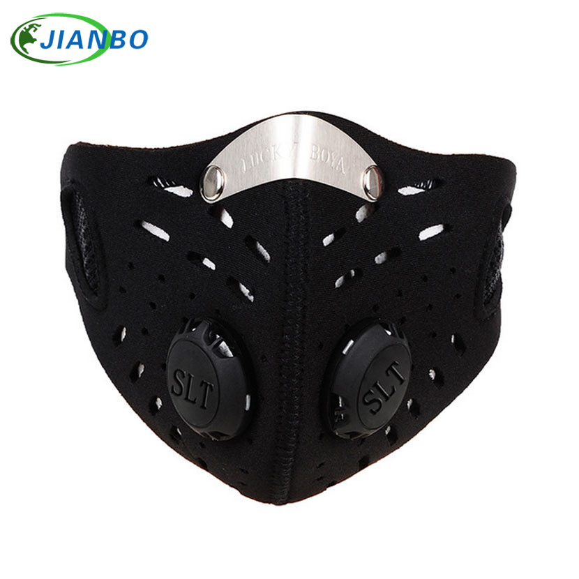 Outdoor Sports Bike Face Mask Filter Air Anti-Pollution for Bicycle Riding Traveling Dustproof Mouth-muffle outdoor sports cycling mask bike riding variety turban magic bicycle designal scarf women scarves