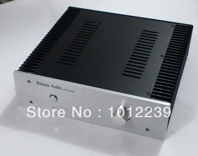 New aluminum amp chassis /home audio power amplifier case size  320X90X313mm hot sale gold preamp aluminum chassis with knob diy home audio amp chassis size 236 w x 166 high x 75 deep