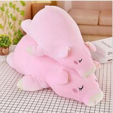 WYZHY down cotton pig hug plush toy sofa decoration to send friends and children gifts 50CM