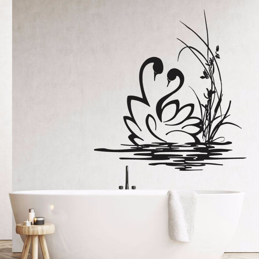 Bathroom Decoration Vinyl Wall Sticker