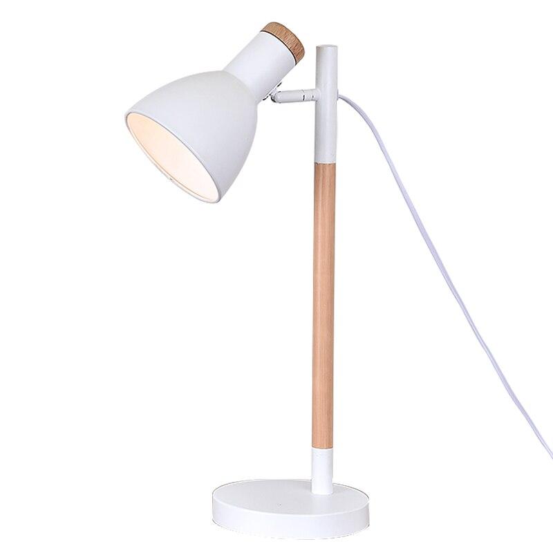Die holzarbeiten leselampe moderne schlafzimmer nachttischlampen buch studie kreative büro - 2