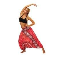 Цифровой печати танец Йога шаровары Высокое качество мягкие дышащие живота 3D Полиэстер Тренажерный Зал Фитнес свободные брюки