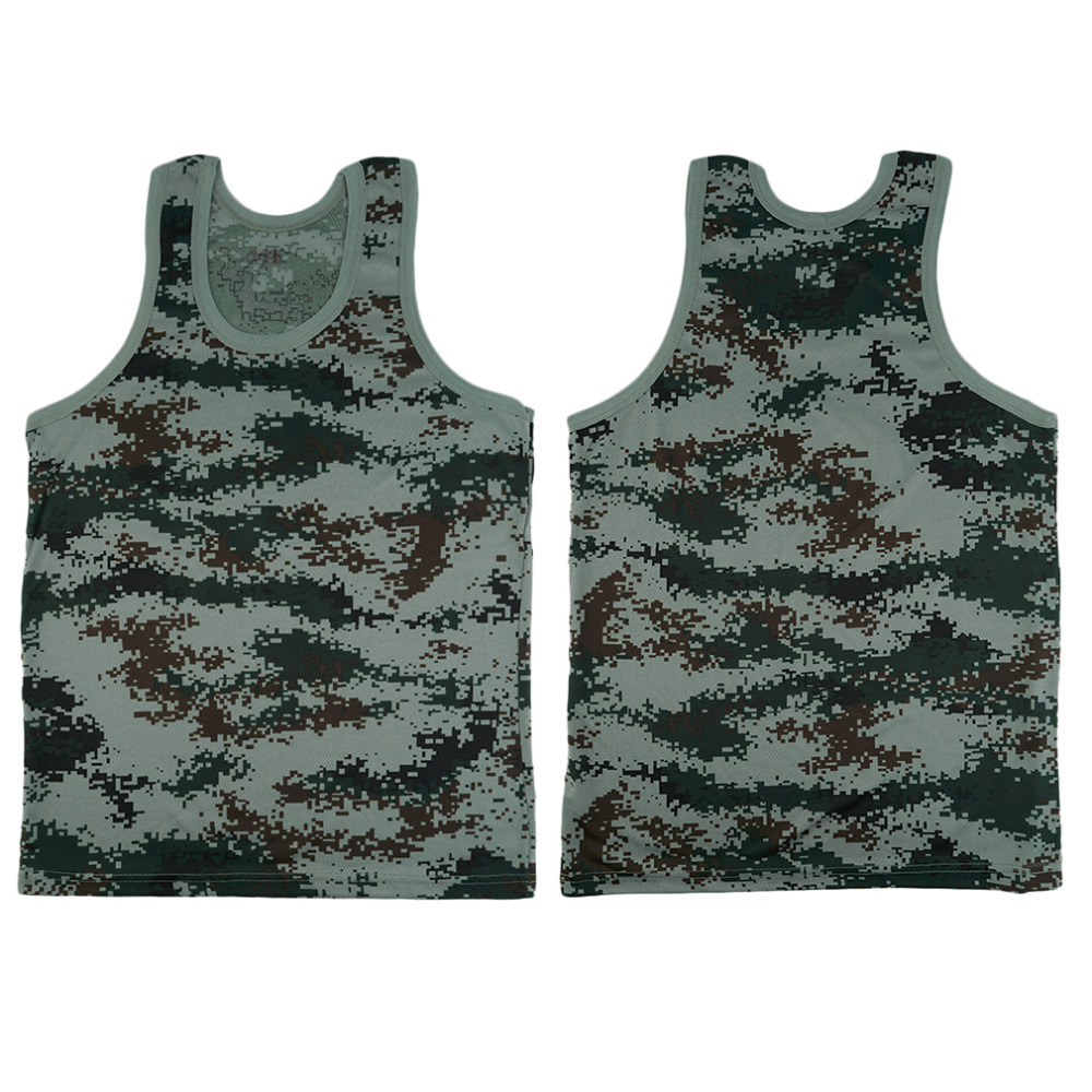 Running Vests 2016 Running Vests Military Style Men Vest Camouflage Tank Top Tight Sport Skinny Best Seller
