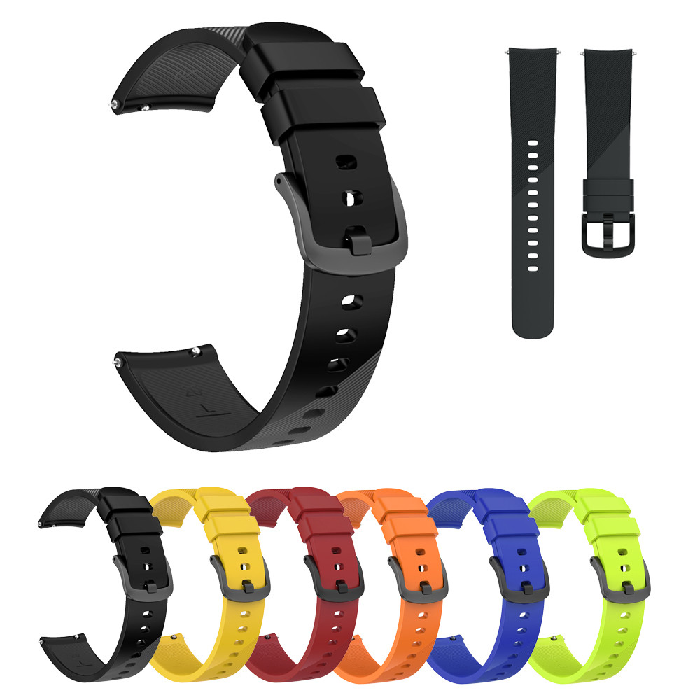 Small Replacement Silicone Band Strap Wristband Bracelet For Ticwatch E 20mm watch band watch strap silicone gear s3 band silicone watch band wristband bracelet replacement for polar m400 m430 gps watch
