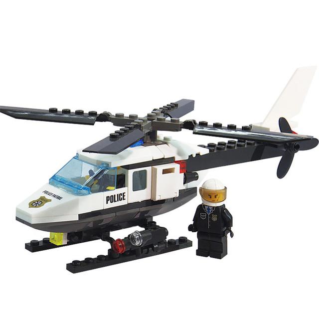 102pcs Aircraft Airplane Model Building Blocks