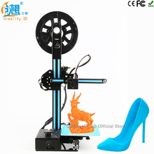 CREALITY 3D Cheap 3d printers kit Ender-2 FDM Injection Molded CNC 3d printing kit with Aluminum Hotbed Filaments Education