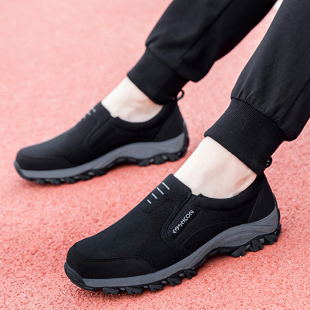 2018 New Men Walking Shoes Comfortable Wearable Autumn Outdoor Walking Winter Jogging Male Sneakers Shoes for Dad Men