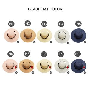 Image 3 - Chapeau de soleil à Large bord pour femme