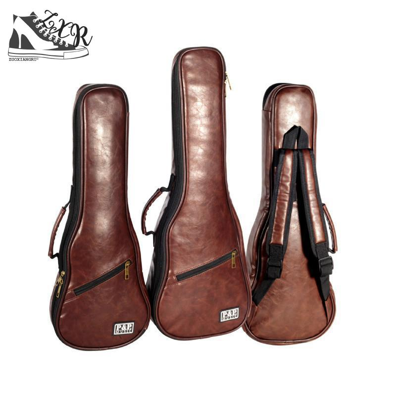 Profession General Ukulele Guitar Case Gig Bag Backpack Thicker Shockproof Waterproof Instrument Package Instrument Bags portable thicker porfessional accordion bag for 120 96 80 72 60 48 32 bass soft gig case backpack instrument package cover
