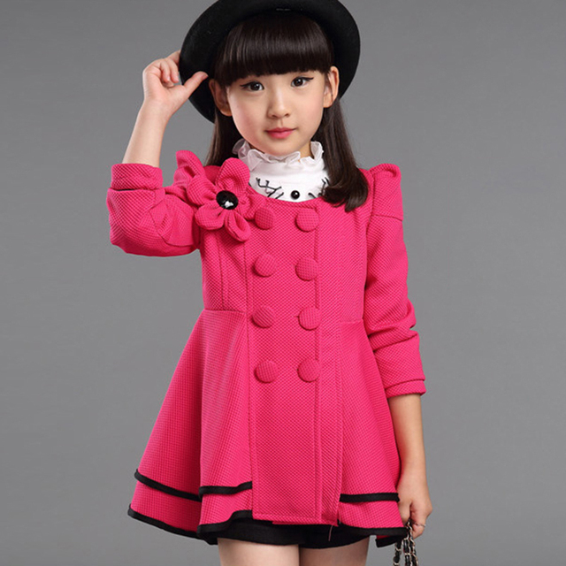 Girls Coat / Children Coat Girls 2015 Fashion Girls Jackets And ...
