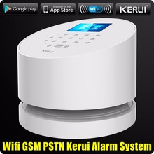 WiFi GSM PSTN RFID Home Alarm Security System