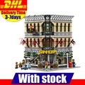 LELE 30004 LEPIN 15005 2182Pcs Creator Grand Emporium Model Building Kits Set Blocks Bricks Toy Compatible With 10211