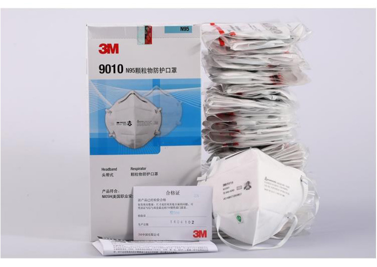 Filter Mask Respirator Headband Flu Breathing Anti Type Dust Protective Particulate box 3m Safe 50pcs N95 Static 9010