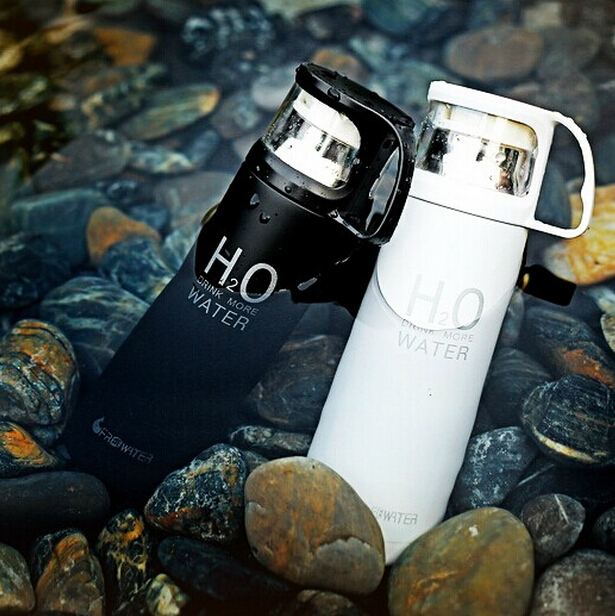 500ML water Bottle H2O Thermos Cup garrafa termica infantil inox caneca Bottle water bottle thermos for food