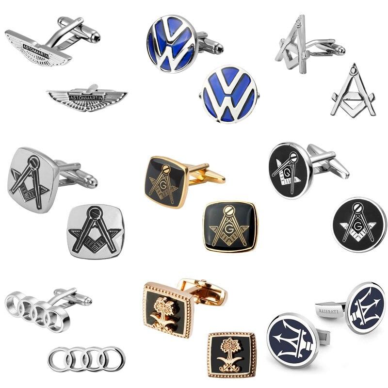 Saudi flag flag Masonic Cufflinks Volkswagen Audi TOYOTA