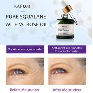Image 5 - Luxurious Face Oil SQUALANE + VITAMIN C ROSE OIL 30ML Brighten Firm Anti Wrinkle Moisturizing Serum