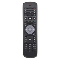 New Original YKF352 B04 389GF10WEPH01T 1602000249 For PHILIPS White Double Side Keyboard TV Remote Control Fernbedienung