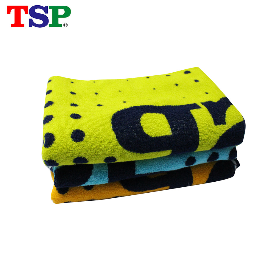 TSP Classic Table Tennis Towel Big Size 100% Cotton Sport Gym Badminton Ping Pong Towel