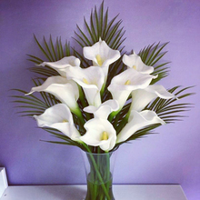 Artificial Flower Calla lily Real Touch PU Hand Feel Flores Artificiais For Wedding Decoration Home Party decor fleurs 67CM