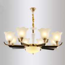 все цены на LED crystal chandelier home deco lighting fixtures living room hanging lights Modern suspension luminaire bedroom suspended lamp