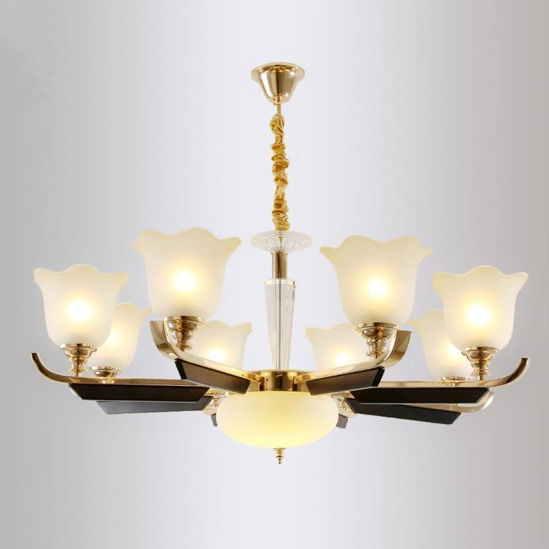 LED lustre en cristal accueil déco éclairage salon suspendus lumières Moderne suspension luminaire chambre suspendu lampe