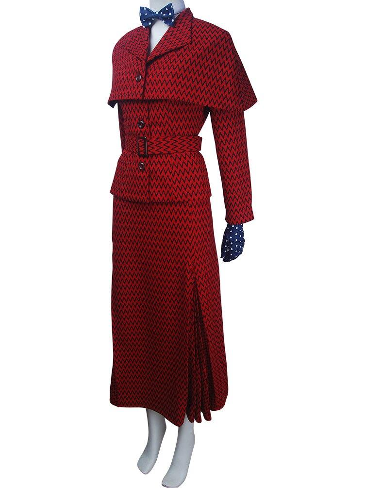 Womenu0027s Mary Poppins Returns (2018) costume cosplay nanny trenchcoat overcoat outwear halloween costume Xu0027mas birthday gift-in Movie u0026 TV costumes from ...  sc 1 st  AliExpress.com & Womenu0027s Mary Poppins Returns (2018) costume cosplay nanny trenchcoat ...