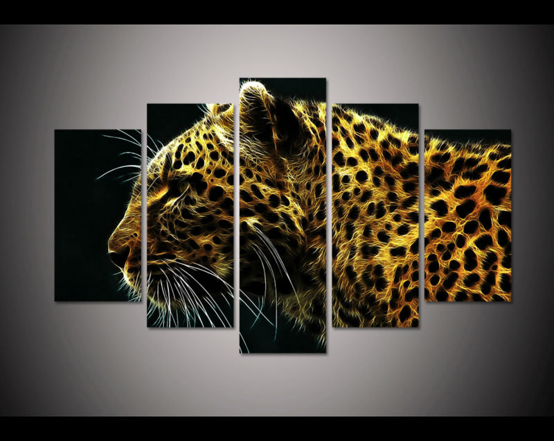 Leopard Wall Decor compare prices on leopard art- online shopping/buy low price