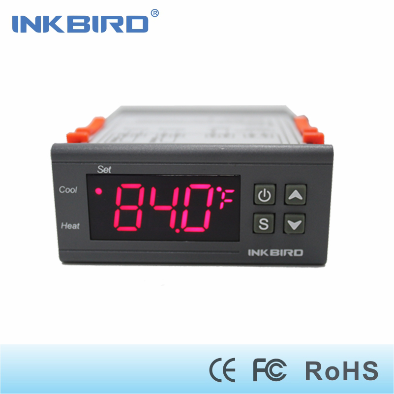 Inkbird ITC-1000 Electronic Digital heat and Cool Temperature Controller Fahrenheit &Centigrade dual relay Thermostat NTC sensor цены